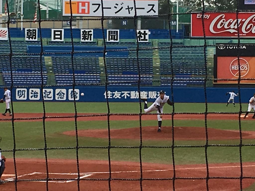 広尾エースの渡辺投手