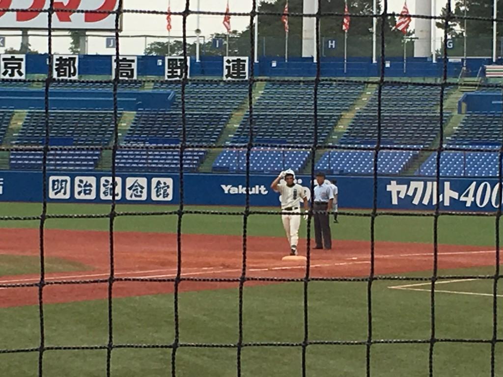 タイムリーヒットを放った永井選手