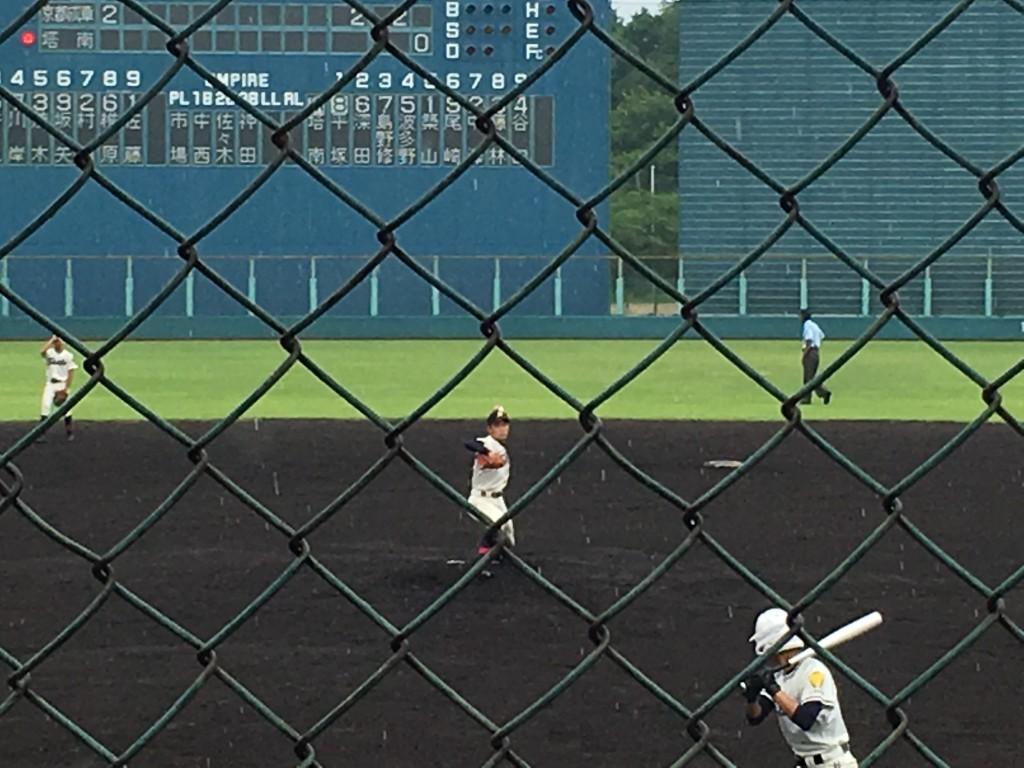 京都成章先発の佐藤投手