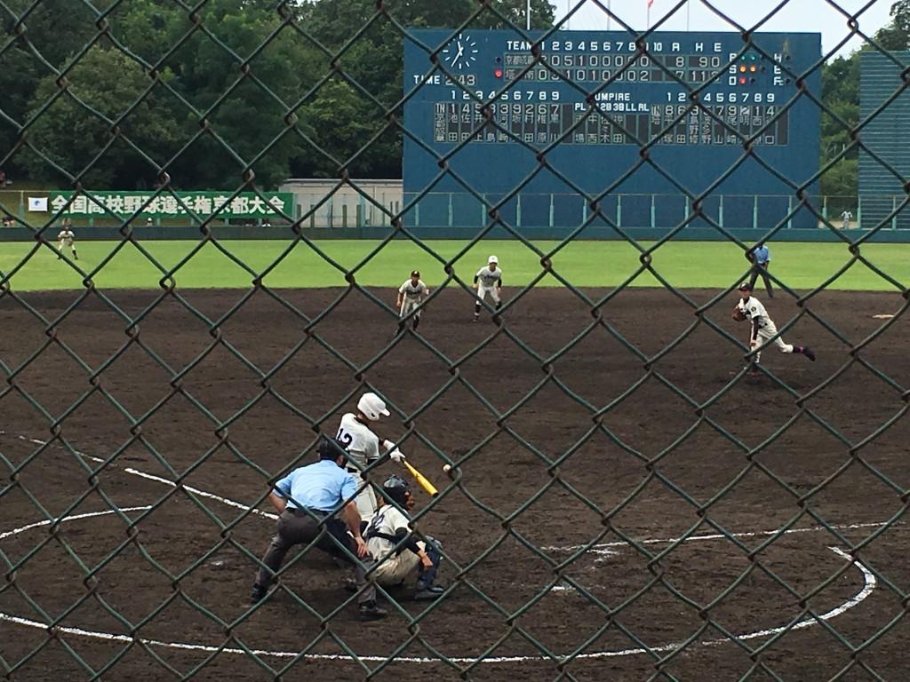 明河選手の逆転サヨナラ二塁打
