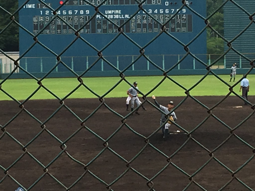 両洋2番手の福田投手