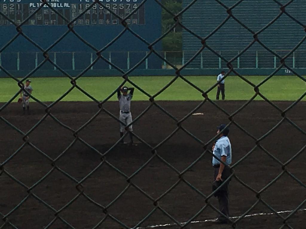 両洋3番手の高田投手