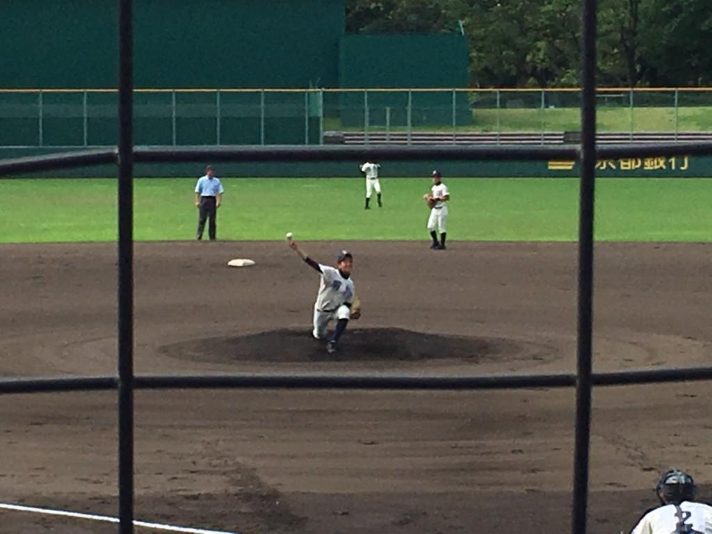 網野先発のエース池田投手