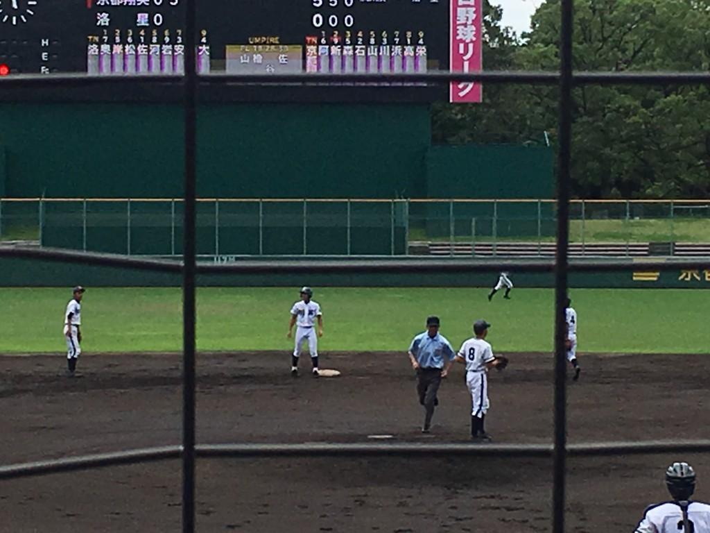 タイムリー2塁打の阿部選手
