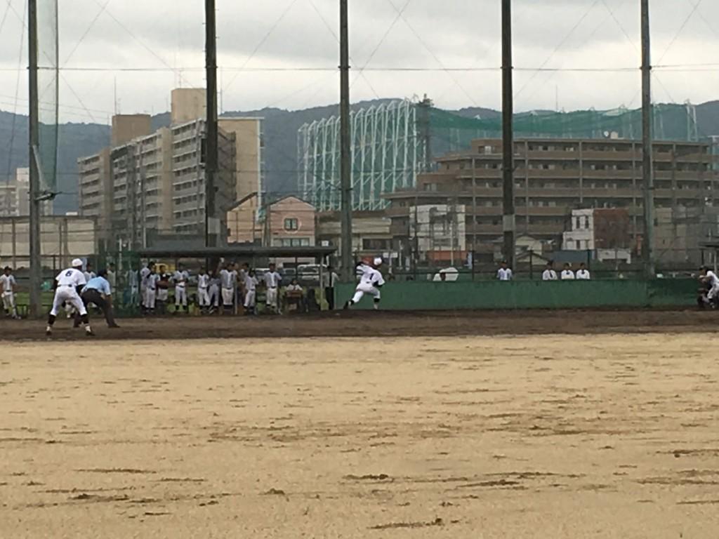 京都学園、エースの竹中投手