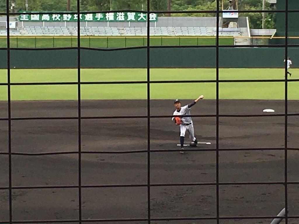 光泉エース、山田投手