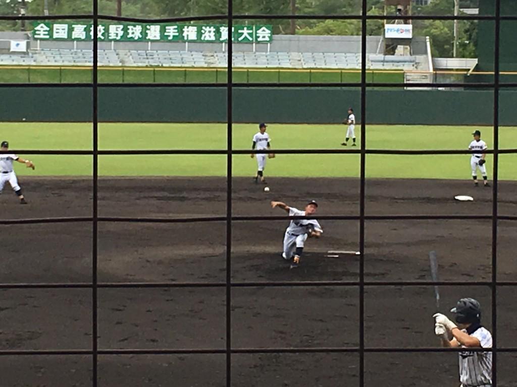 滋賀学園エースの神村投手
