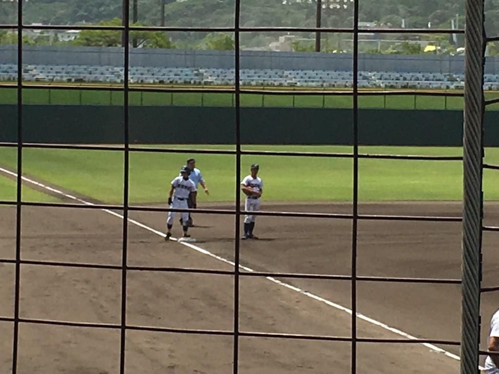 3塁打の井川選手
