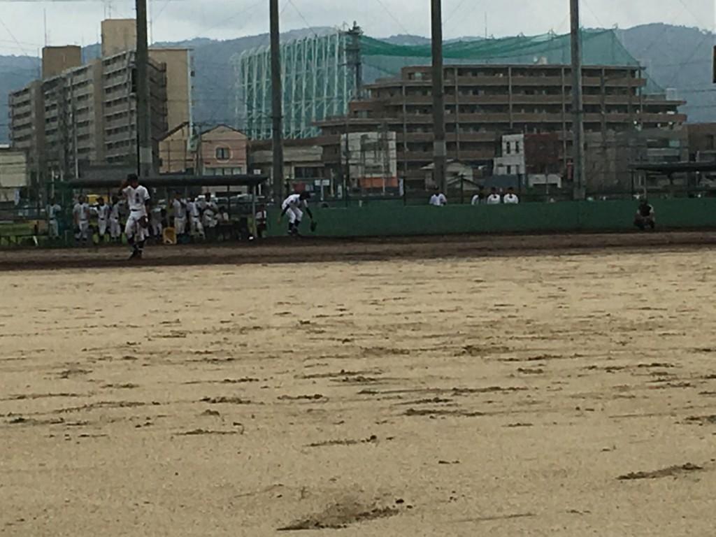 木津4番手の福沢投手