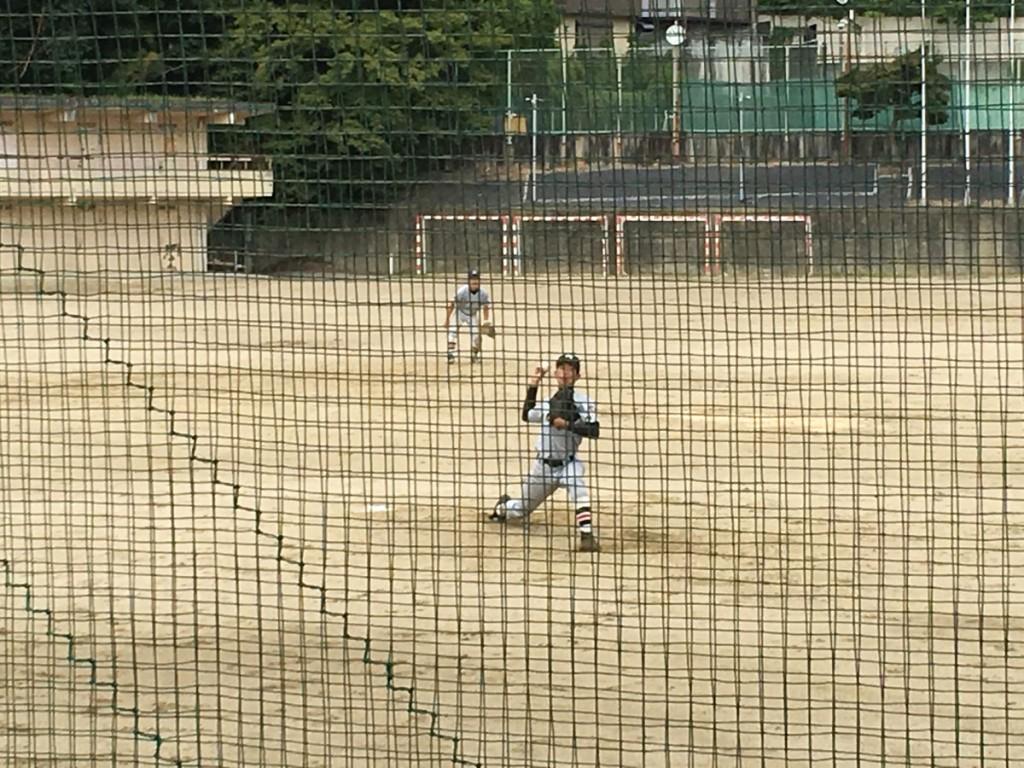 京産大附、2番手の桑原投手