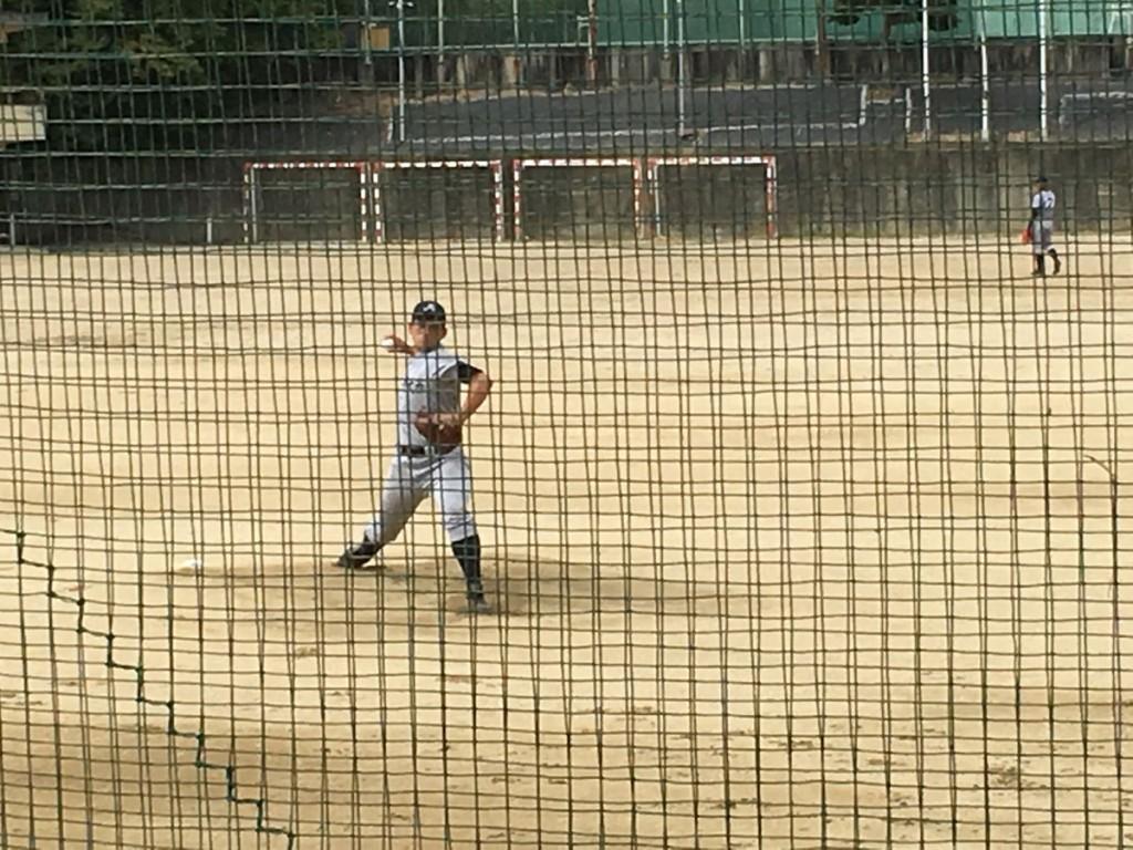 京都外大西、先発の田渕投手