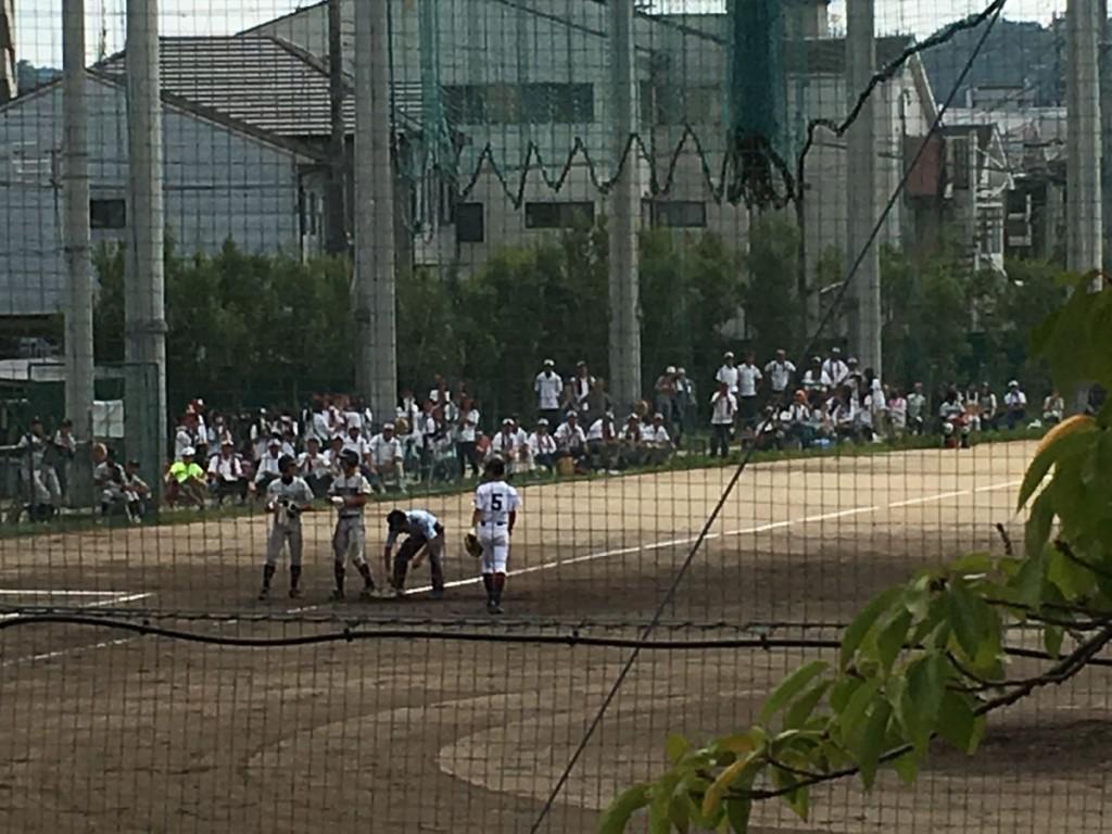 タイムリー3塁打の寺田選手