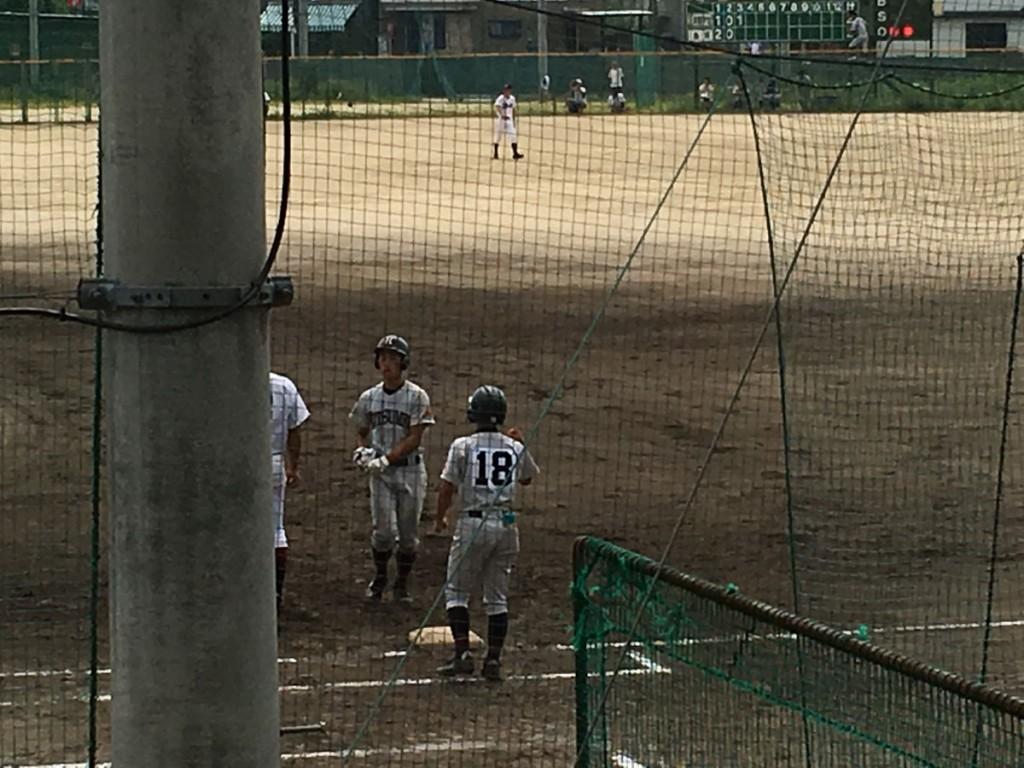 逆転タイムリーヒットの太田選手