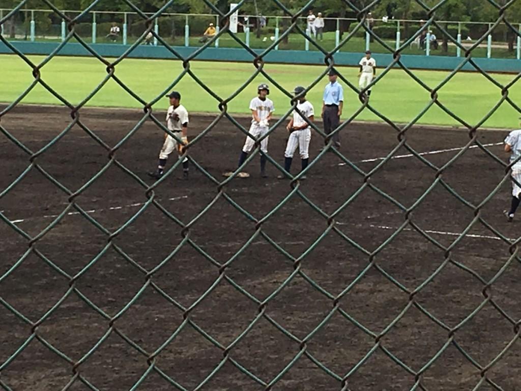 この試合2打点の中川選手