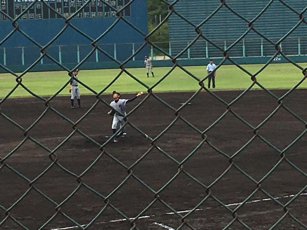 桂エースの岡投手