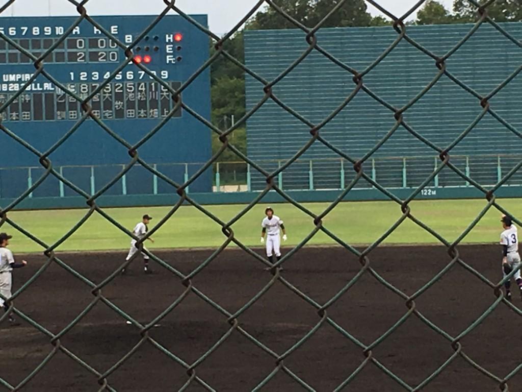 タイムリー2塁打の吉田選手