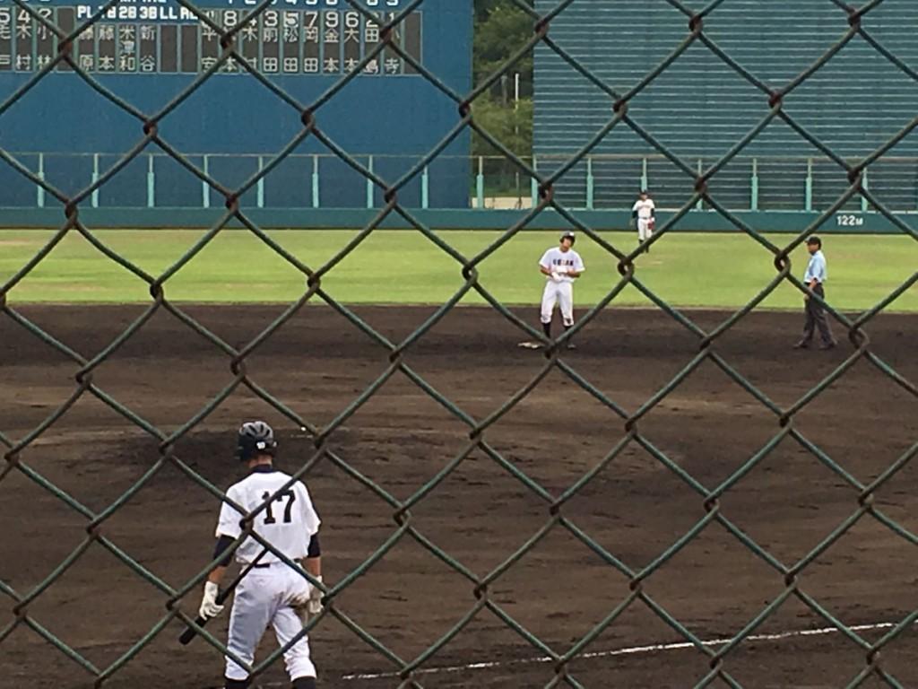 タイムリー2塁打の松田選手