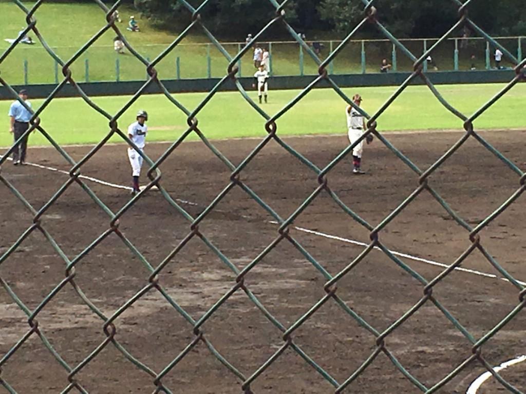 3塁打を放った小西選手