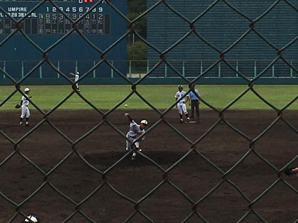 京都学園、藤本投手