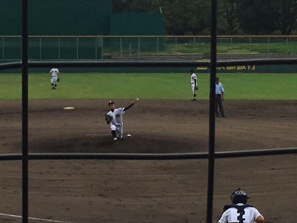 翔英3番手の坂田投手