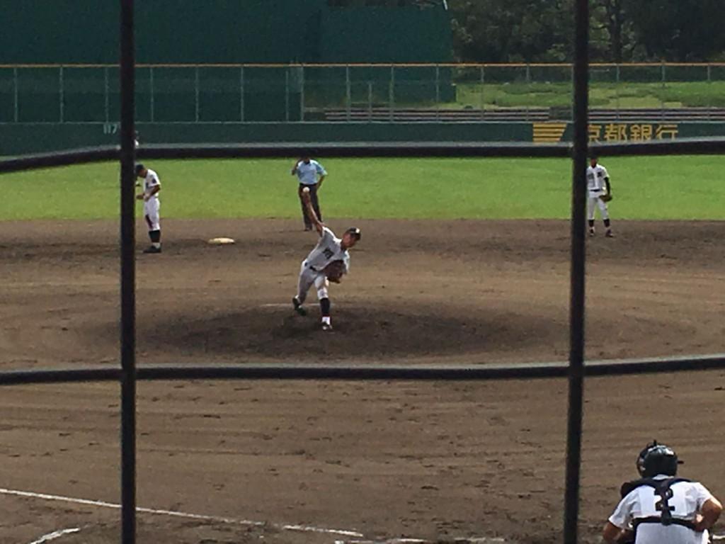 翔英4番手の阿部投手