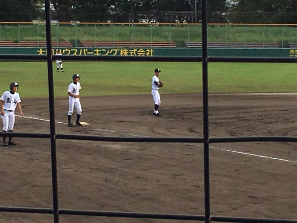 3塁まで進んだ増田選手