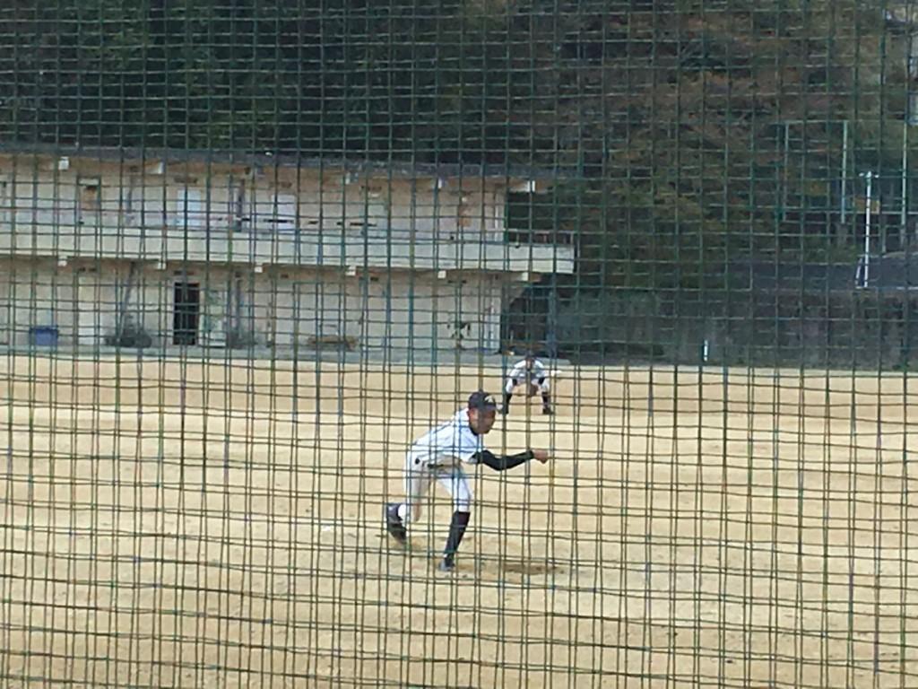 洛東2番手の岸本(?)投手