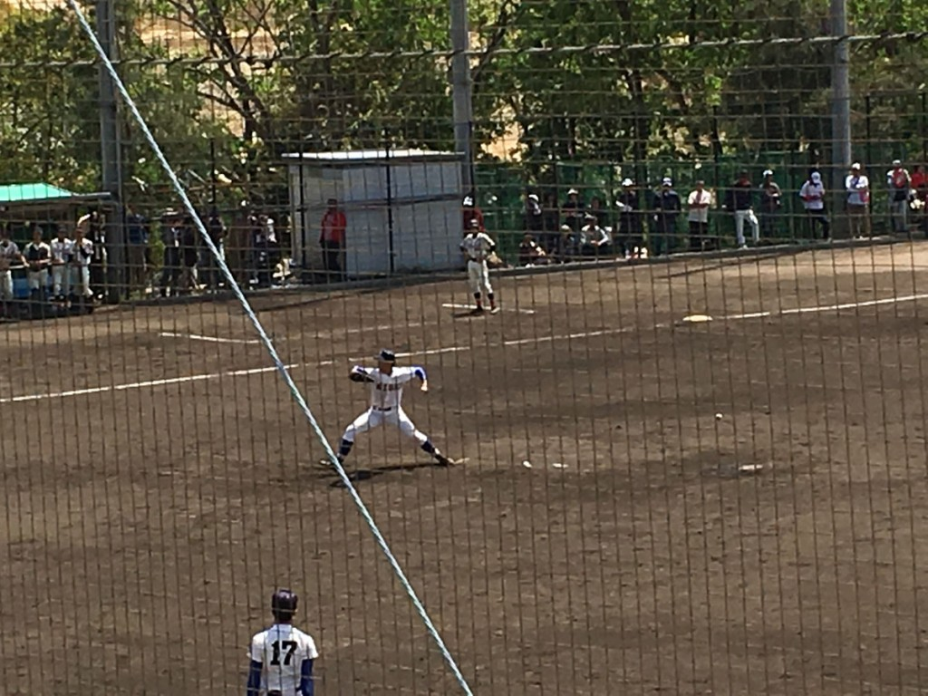 履正社2番手の岡田投手