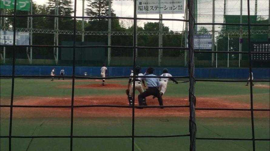 [ 四回戦 ] 帝京 VS 明大中野八王子