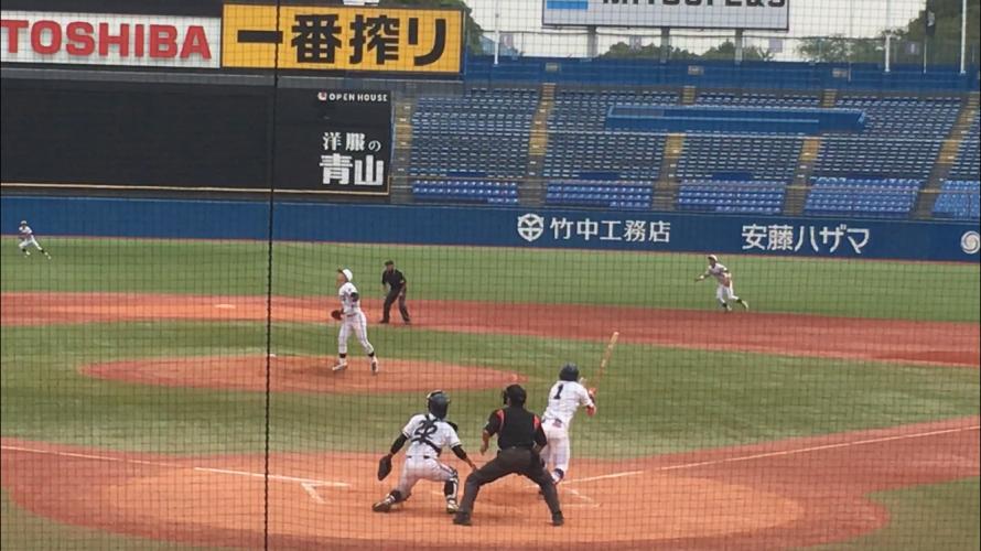 [ 東都リーグ戦 ] 駒澤大 VS 中央大