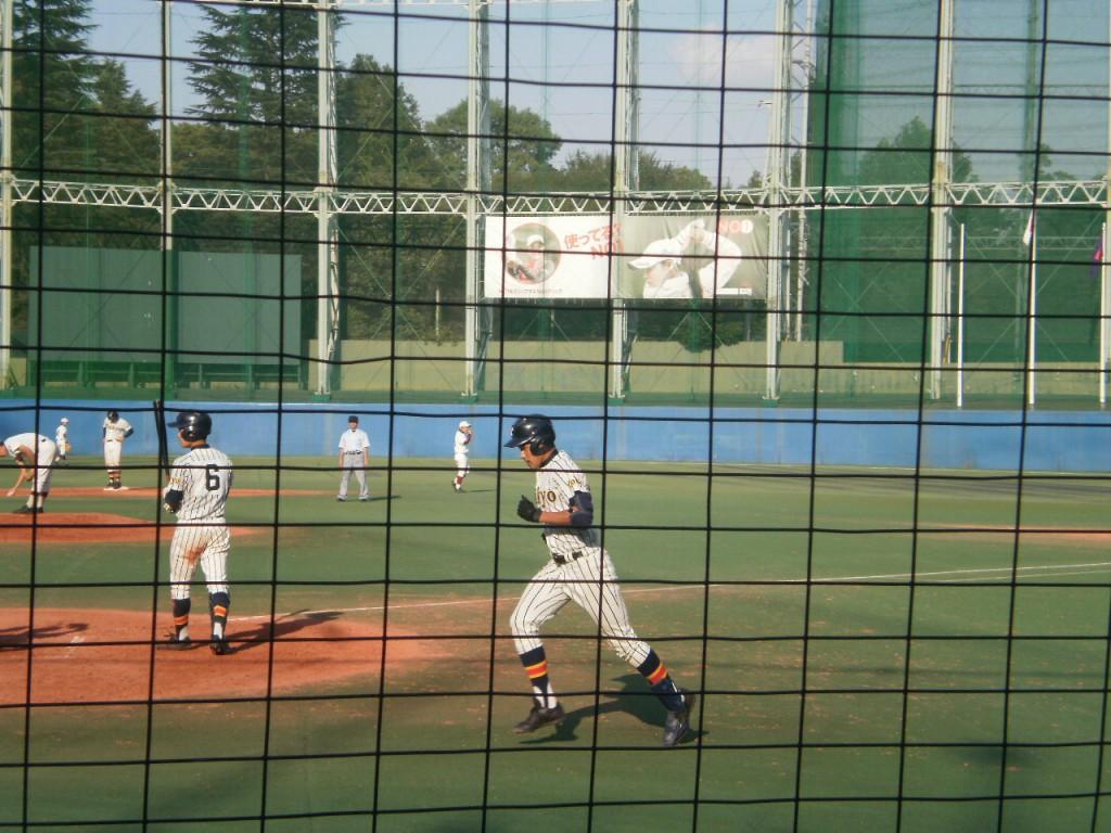 帝京中道選手