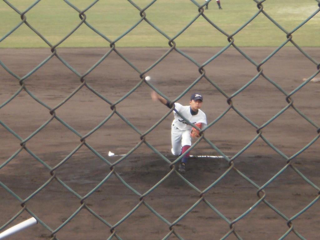 鳥羽エースの松尾投手