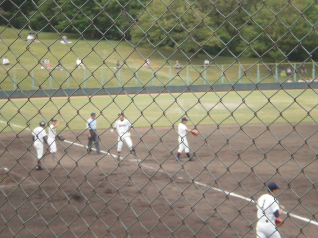 走者一掃のタイムリー3塁打の山田投手