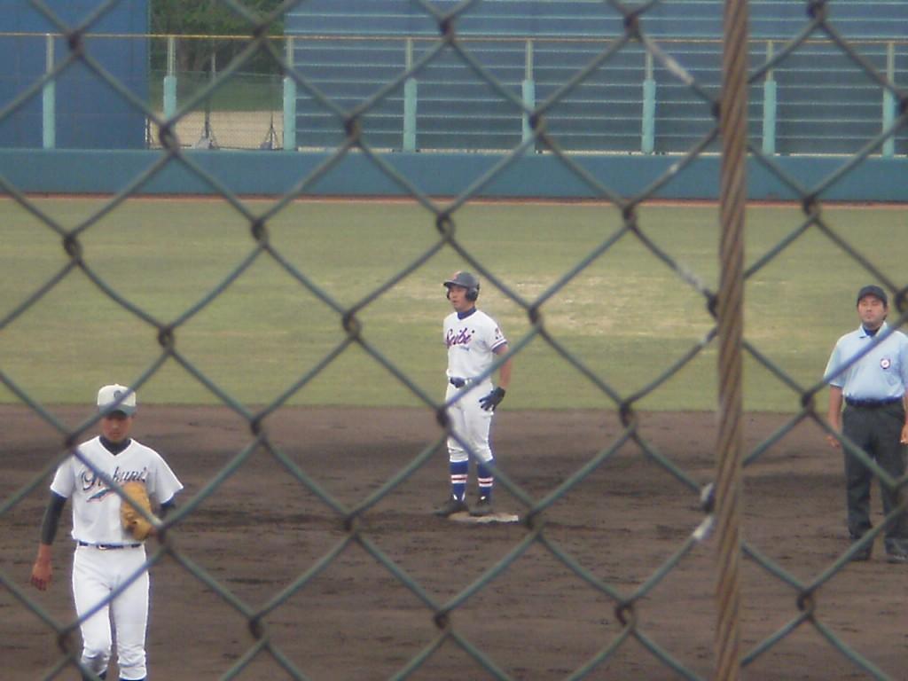 2塁打の山下選手