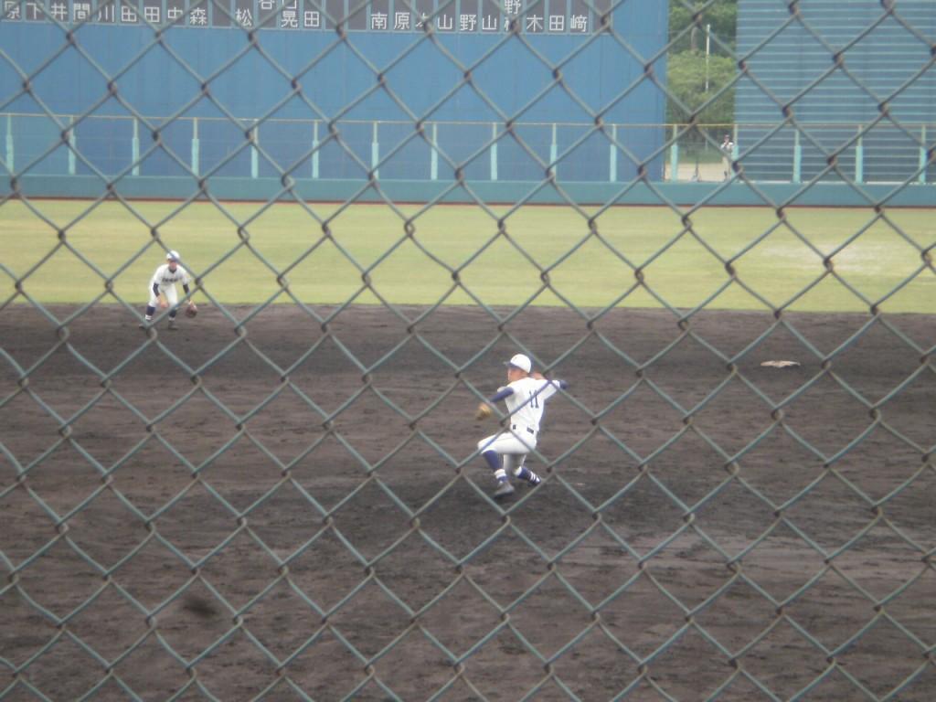 塔南2番手の宮崎投手