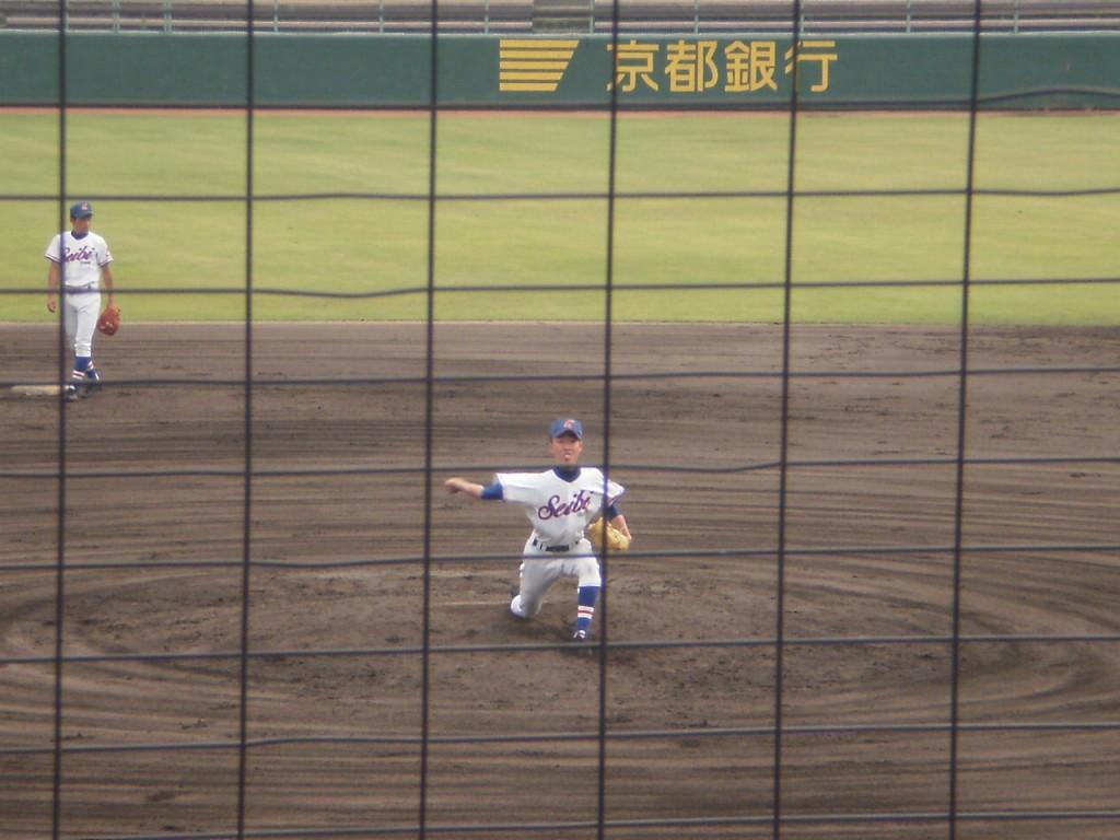 福知山成美2番手の矢野目投手