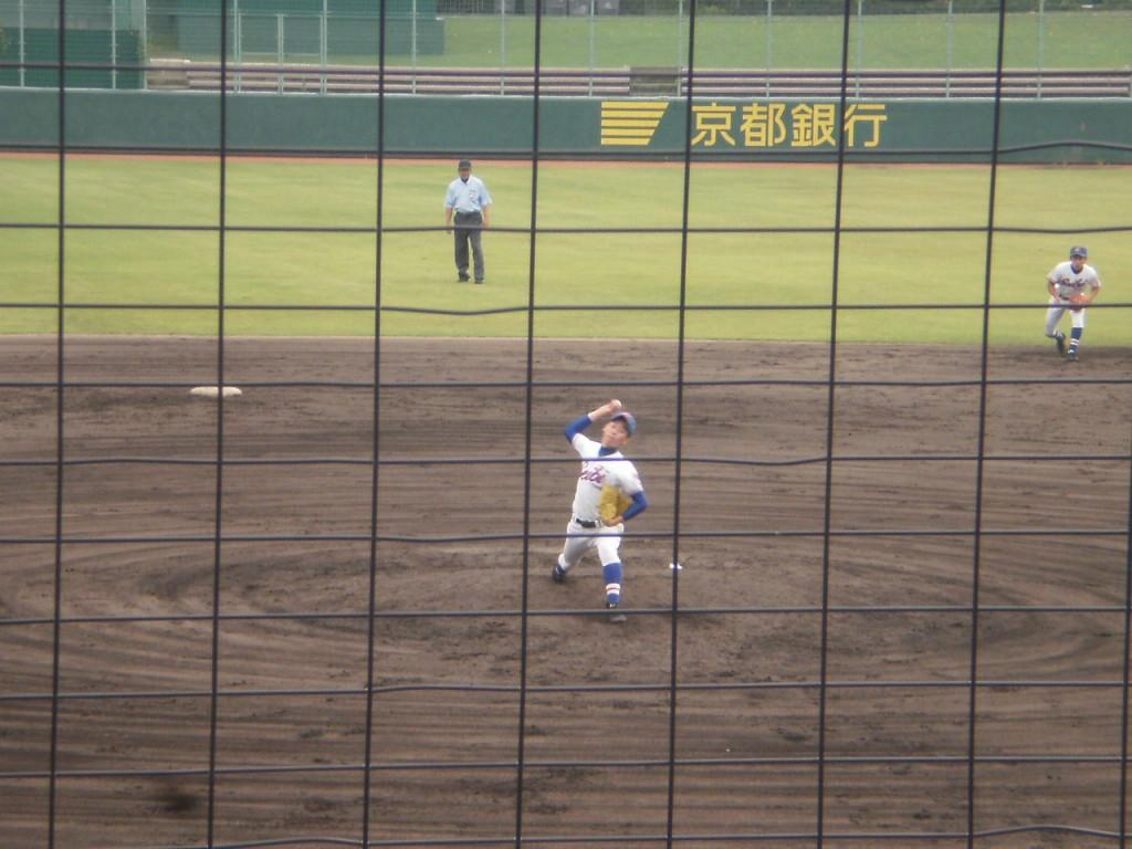 福知山成美3番手の中田投手