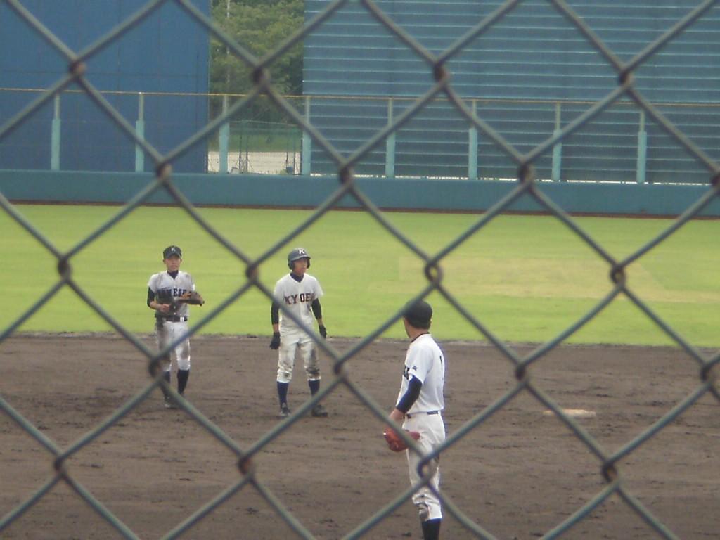 タイムリー2塁打の柿渕選手