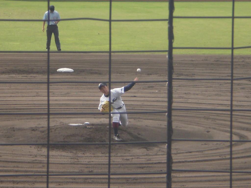 鳥羽先発エースの杉沢投手