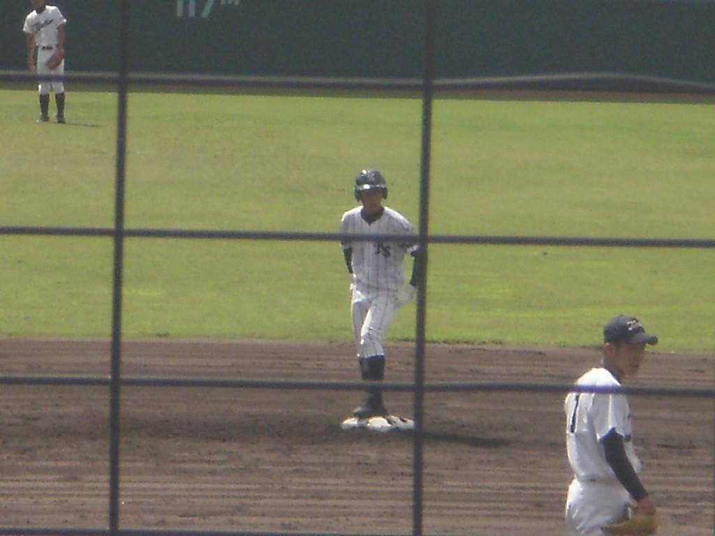 タイムリー2塁打の瀧野選手