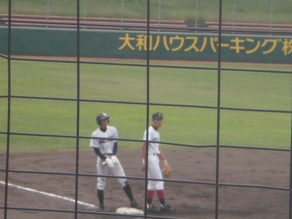 走者一掃のタイムリー3塁打を放った小川選手