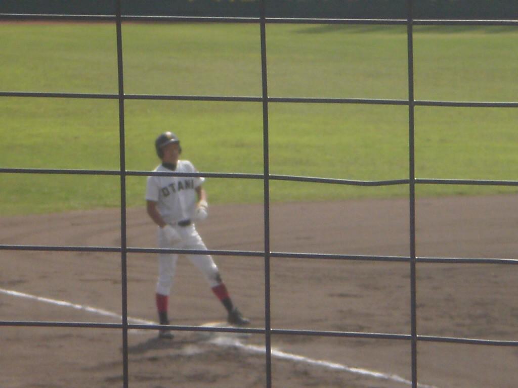 タイムリー3塁打の小塚選手
