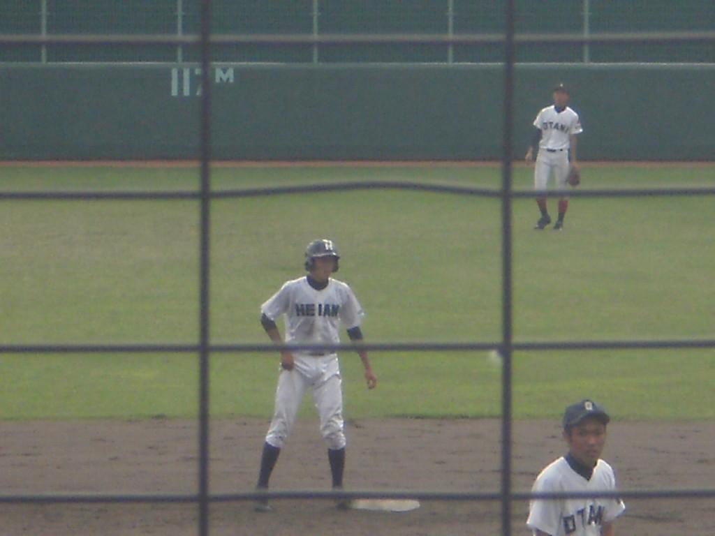 タイムリー2塁打の竹葉選手