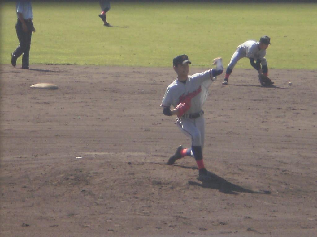 京都国際2番手の柳投手
