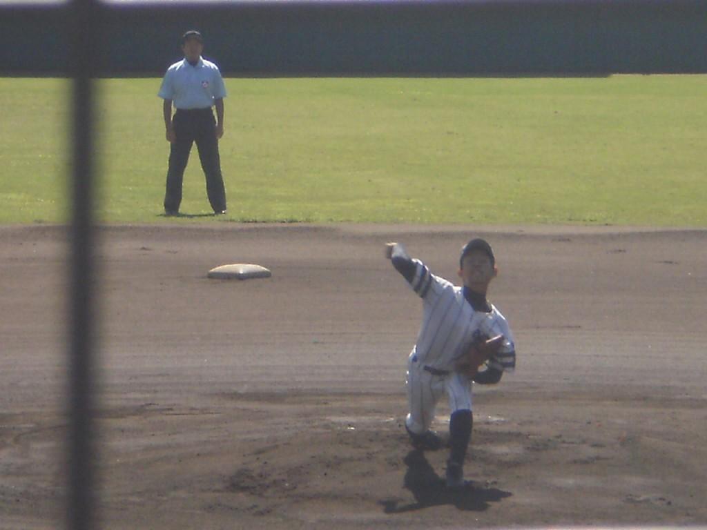 京都翔英先発の瀧野投手
