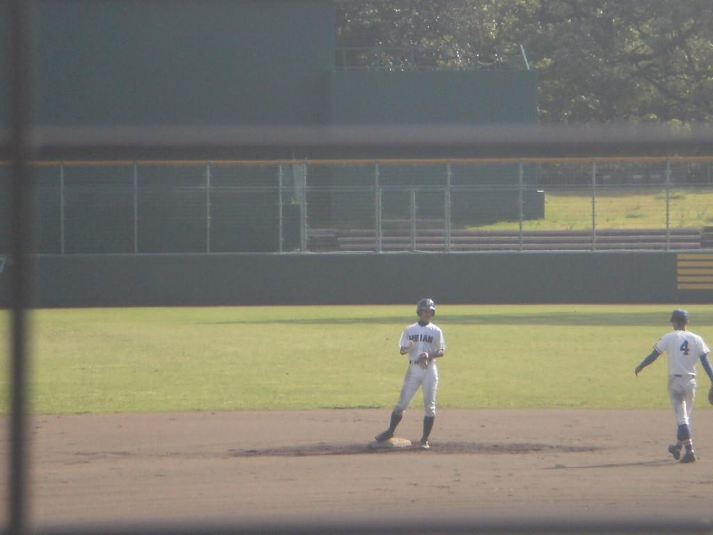 タイムリー2塁打の西川選手