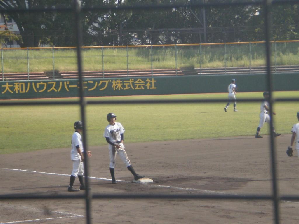 タイムリー3塁打の小川選手