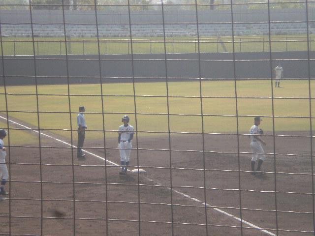 3塁打の西浦選手