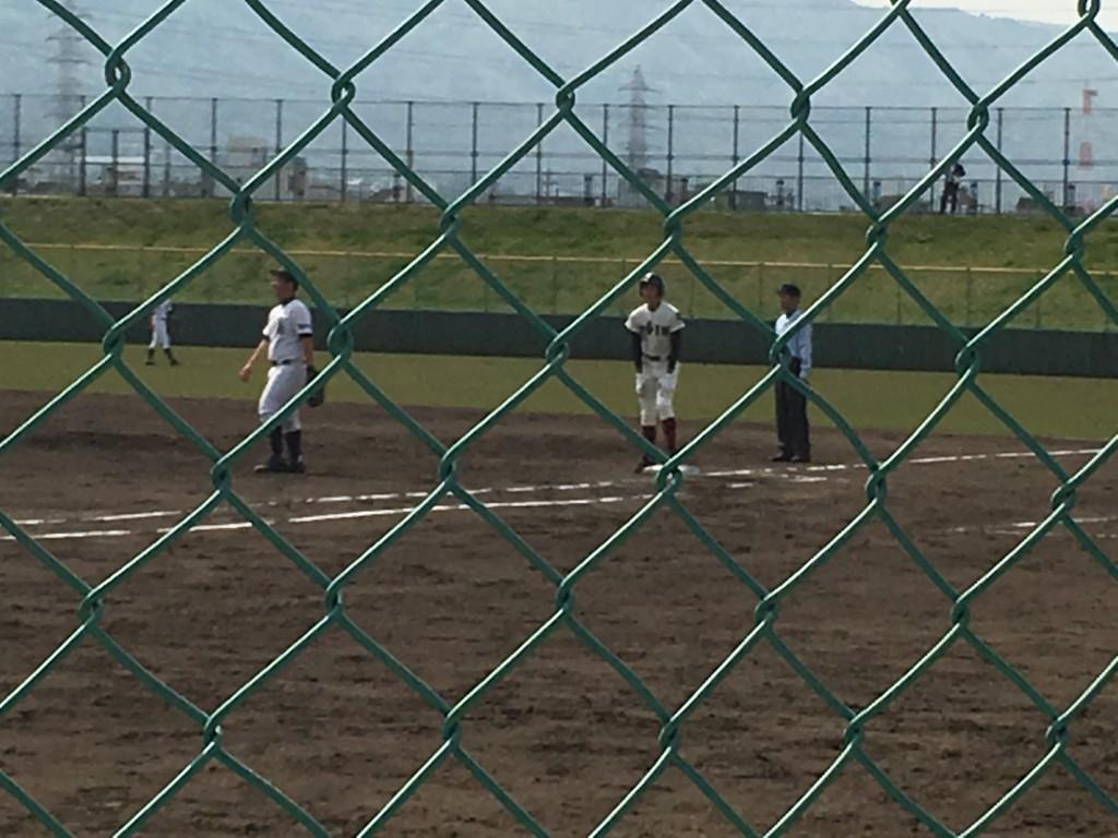 9点目タイムリーヒットの吉澤選手