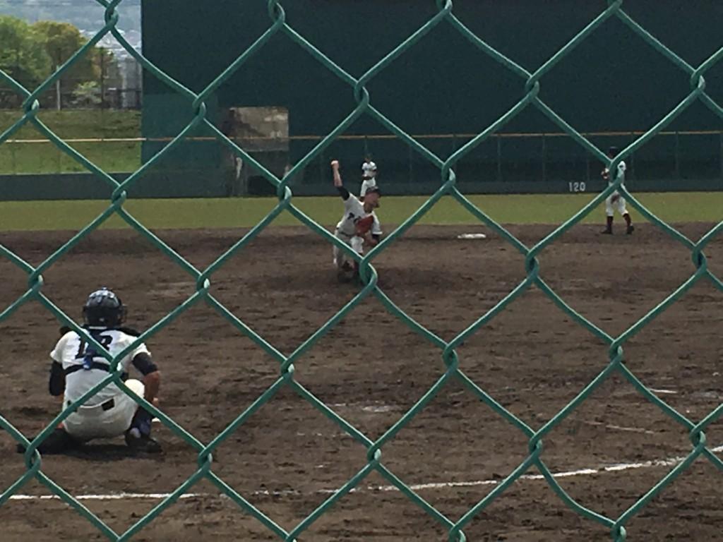 大阪桐蔭2番手の辰巳投手